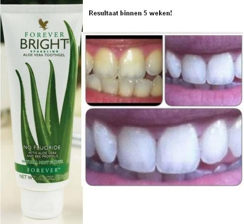 Forever Aloe Bright toothgel